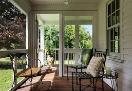 side porches closed in porches porch farmhouse with country house country side