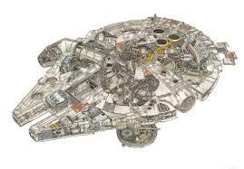 millenium falcon floor plan when 1 1 equals 1 18 ted s toy room weblog