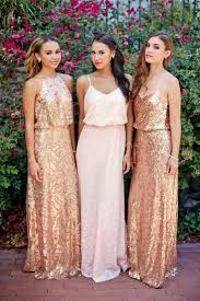 gold bridesmaid dress best 25 glitter bridesmaid dresses ideas on pink and