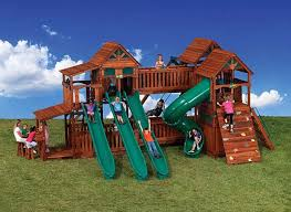 Kids Backyard Swing Set Backyard Swing Sets Backyard Play Sets Crafts Home Style