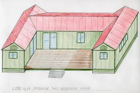 U Shaped House Plans With Courtyard Home Designs The U Shaped House Plan Houzz Home Design