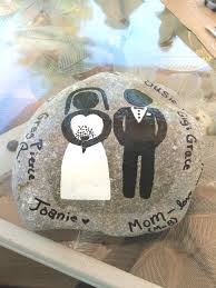 signing rocks wedding guest book wedding memory stones weddingbee