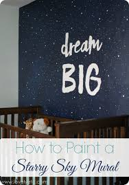 painting a night sky mural lovely etc how to paint a night sky mural