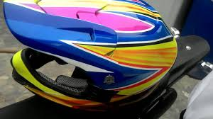 airbrushed motocross helmets airbrush helm trail grafis youtube