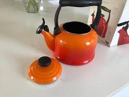 Disney Le Creuset Le Creuset Kettle Orange Sold In Kingsknowe Edinburgh Gumtree