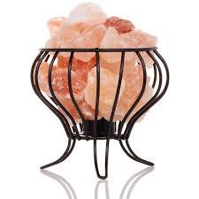 himalayan salt l basket the original salt company himalayan salt rock feng shui basket l
