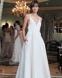 Simple Wedding Dresses 46 Pretty Wedding Dresses With Pockets Martha Stewart Weddings