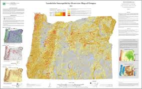 Oregon Earthquake Map by Oregon Is Prone To Landslides U0027 New Map Plots Risk Kval