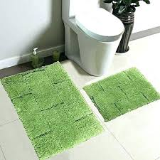 Green Bathroom Rugs Lime Green Bath Rug Tapinfluence Co