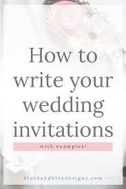 exles of wedding program wording non formal wedding invitation wording