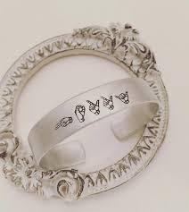 Personalized Cuff Bracelet Sign Language Jewelry Name Cuff Bracelet Personalized Cuff