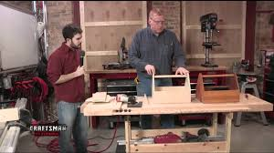 how to make a wooden tool box youtube