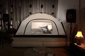 bed tent with light room in room tent
