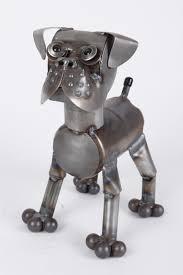 boxer dog statue credit www backyrdbirdsdiscoverycenter com metal sculpture
