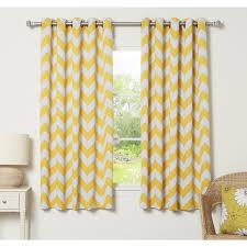 Chevron Panel Curtains Yellow Chevron Curtains Interior Design