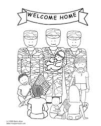 military for kids coloring page free download
