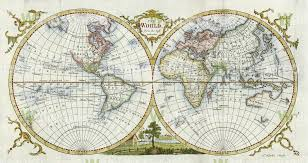 antique map world antique world map 1777 wall mural map wallpaper