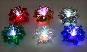 5 99 for 6 color changing lighted bows groupon