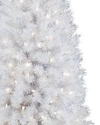 winter white potted artificial white tree treetopia