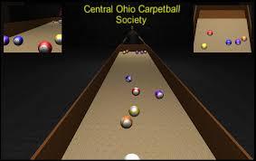 indoor carpet ball table carpetball central ohio carpetball society c o c s