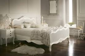 white bed frame susan decoration
