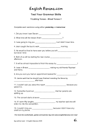 worksheets for english lessons