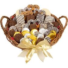 Bakery Gift Baskets Lady Fortune Bakery Treats Basket Bakery Gifts Brownie Gift Basket