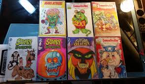 garbage pail kids halloween costume artists collectors prepare for first gpk con gpknews com