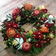 wreath large whites florist