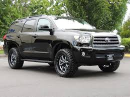 toyota sequoia lifted pics 2016 toyota sequoia sr5 4wd third seat sunroof backup lifted