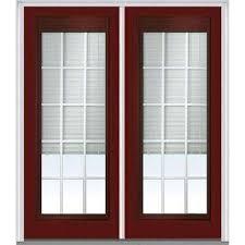 Blinds For Double Doors Blinds Between The Glass Double Door Fiberglass Doors Front