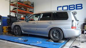 subaru forester modified cobb tuning dyno 402 whp 419 whp 2008 subaru forester xt youtube