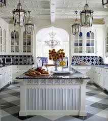 White Kitchen Tile Backsplash Blue And White Backsplash Styles Atticmag