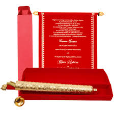 Scroll Invitations Fascinating Scroll Wedding Invitations For Perfect Wedding Event