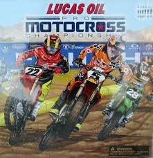 pro motocross racer lucas oil pro motocross championship board game for sale in