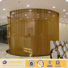 Ceiling Room Dividers by Ceiling Hanging Room Dividers Decorative Metal Chain Curtain Buy