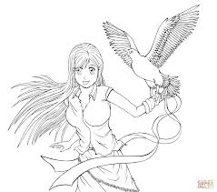 bleach coloring pages free coloring pages