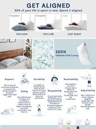 amazon com coop home goods the eden pillow ultra tech cover