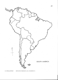 North And South America Map Blank by Latin America Physical And Political Map Mrs Davis 6th Grade Maps