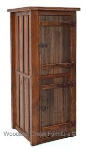 rustic linen cabinet by woodland creek furniture available any