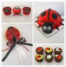 Ladybug Themed Baby Shower Cakes - ladybug themed baby shower ideas