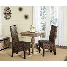 seagrass dining chair set of 2 free shipping today overstock