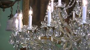chandelier chandelier maria theresa crystal chandelier youtube