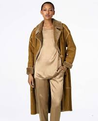 what women s shearling coats jackets are in style 2018