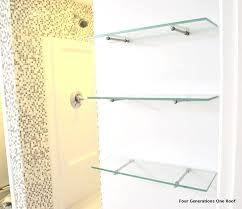 best 25 floating glass shelves ideas on pinterest glass shelves