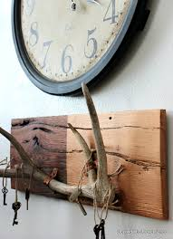 beyond the picket fence rustic chic antlers