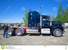 2000 kenworth blue kenworth show truck tractor editorial stock photo image