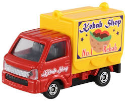 suzuki carry truck takara tomy tomica 57 suzuki carry mobile catering truck mini