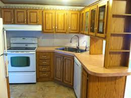 Mobile Home Kitchen Cabinets Beautiful Green Kitchen Walls With White Cabinets Green Kitchen