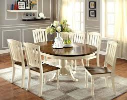 Antique White Dining Room Furniture Furniture Wonderful Antique White Dining Tables For Shab Chic